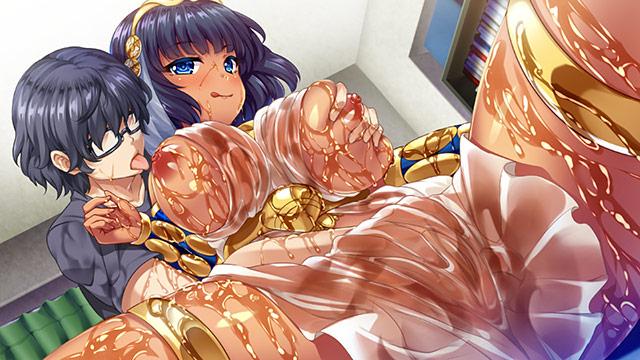 クレオパトラがやってきた!? 現代に降臨した古代女王と濡れ透け性生活 4