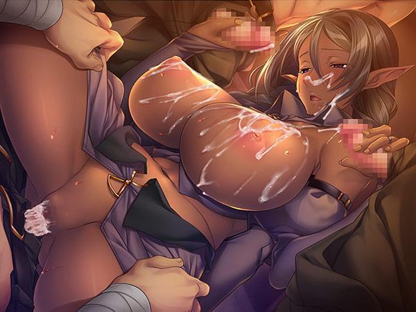 [黒獣外伝]エルフ村の姦落 恥辱と快楽の宴 4