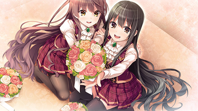 【0円】お嬢様の半分は恋愛で出来ています!秘密のはじまり、体験版と壁紙セットのサンプル画像