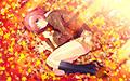 秋空に舞うコンフェティ