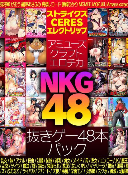 【期間限定】アミューズクラフトエロチカ NKG48(抜きゲー48本)パック