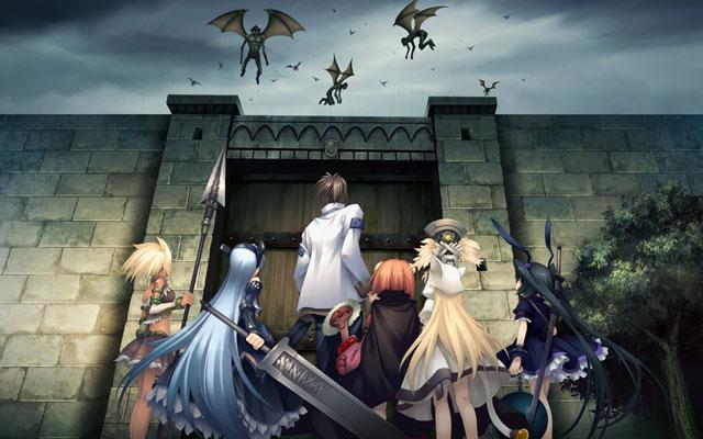 聖なるかな外伝・精霊天翔 壊れゆく世界の少女たち DL版 2