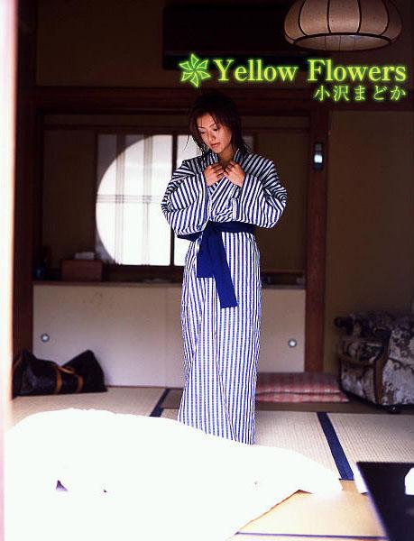 小沢まどか写真集「YELLOW FLOWERS」