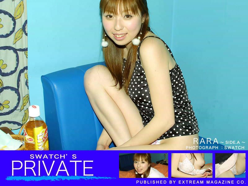 素人写真集「PRIVATE-RARA- SIDE.A」