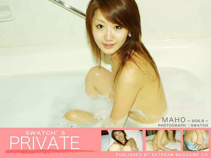 素人写真集「PRIVATE-MAHO- SIDE.B」