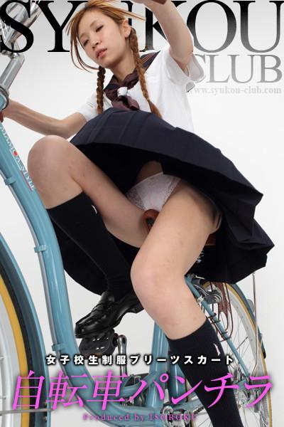 自転車パンチラ 7