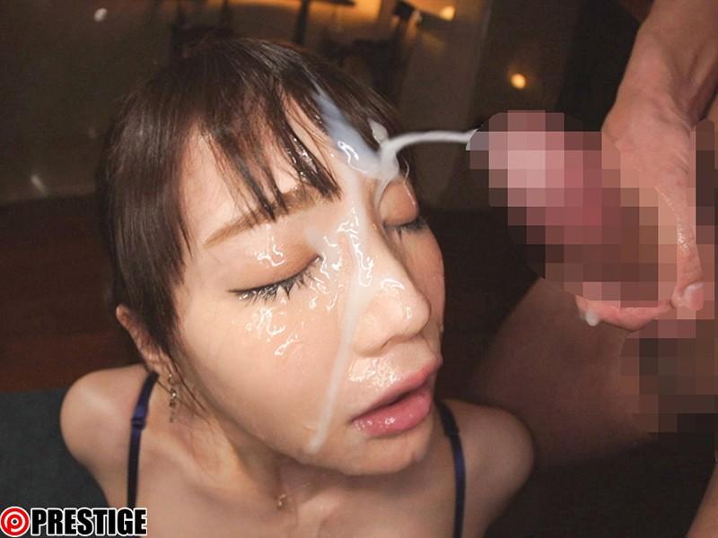 顔射の美学 08 絶対的美少女の顔面に溜まりに溜まった'白濁男汁'をぶちまけろ!! 鈴村あいり 6枚目