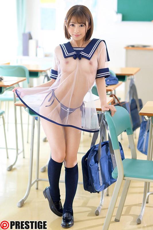 超!透け透けスケベ学園 CLASS 05 美しい裸身が透き通る、透けフェチ特濃SEX! 乙都さきの 1枚目