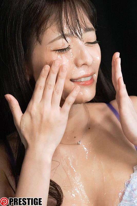 顔射の美学 09 美女の顔面に溜まりに溜まった白濁男汁をぶちまけろ!! 野々浦 暖 5枚目