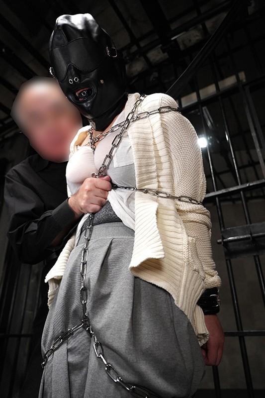 鉄鎖拘束拷問 地獄のボンレスハム! 真田みづ稀 1枚目