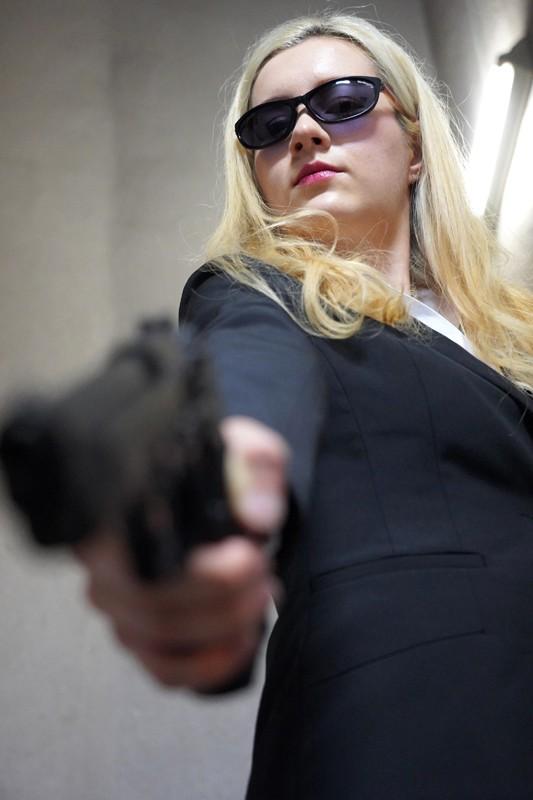 ロシアから来た女捜査官電流拷問 サーシャ 1枚目
