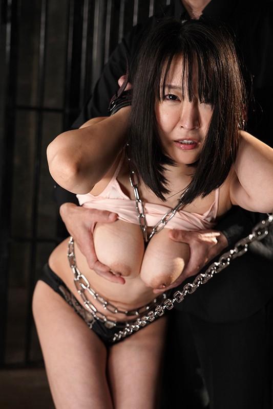鉄鎖 バイブ拷問 巨乳ボンレス 羽生アリサ 1枚目