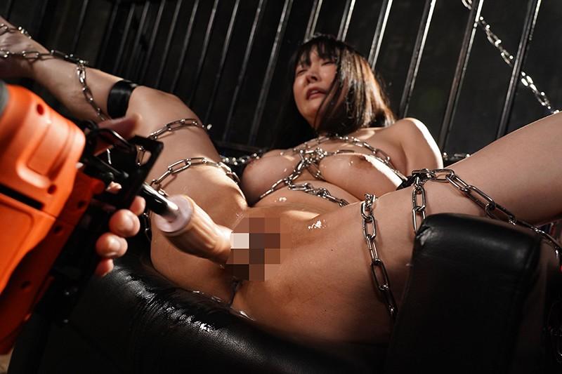 鉄鎖 バイブ拷問 巨乳ボンレス 羽生アリサ 4枚目