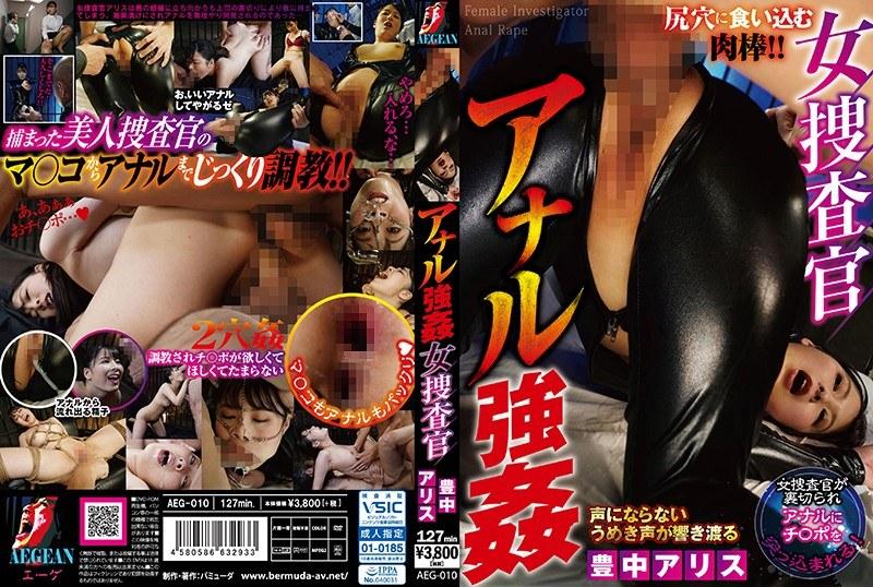 女捜査官 アナル強● 豊中アリスのパッケージ画像