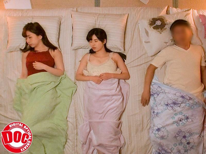 妻の連れ子の巨乳美人姉妹の無防備な生巨乳に欲情 画像13枚