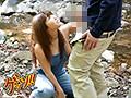 無防備なオーバーオール胸チラで男を誘い青姦SEXする巨乳妻9名5時間