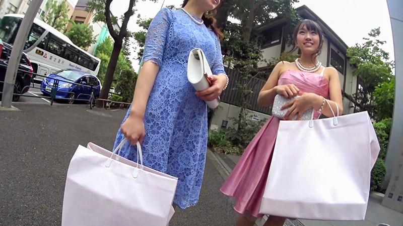 結婚式帰りの美女をナンパして中出しSEX Vol.0111