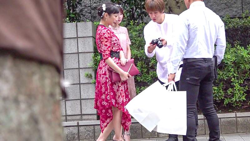 結婚式帰りの美女をナンパして中出しSEX Vol.016