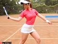 某有名体育大学1年 女子テニス部選手 汐美あや AVデビュー AV女優 新世代を発掘します!のサンプル画像