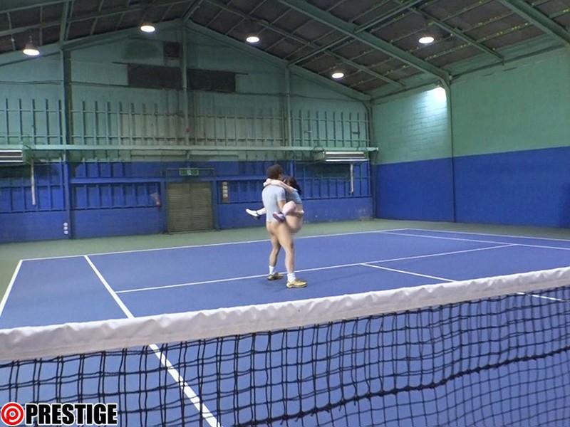 某私立女子大学4年 硬式テニス部選手 聖あいら AVデビュー AV女優新世代を発掘します! 画像4