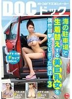 海の駐車場で生着替えする美巨乳女を偶然目撃してしまった僕は… 3 ダウンロード