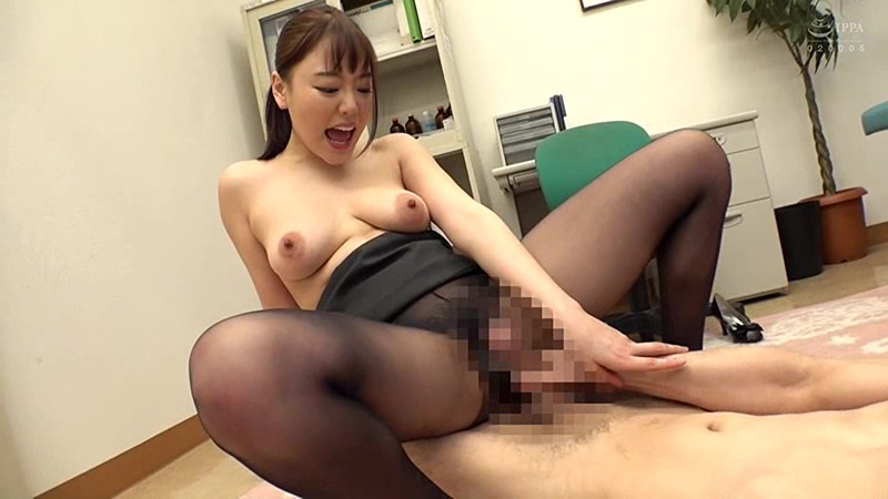 SIM-033 Studio Prestige - Innocent New Employee In Black Pantyhose Without Panties Having Intercrural Sex!? I Rub My Big Cock Against Her Pussy Directly Over Pantyhose! Then I Rip The Excited Office Lady's Pantyhose And Have Bareback, Creampie Sex With Her!! big image 2