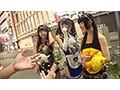 渋谷の街でコスプレ女子10人をハロウィンナンパ!お祭り騒ぎなパリピ娘たちの痴態たっぷり見せちゃいますSP!!