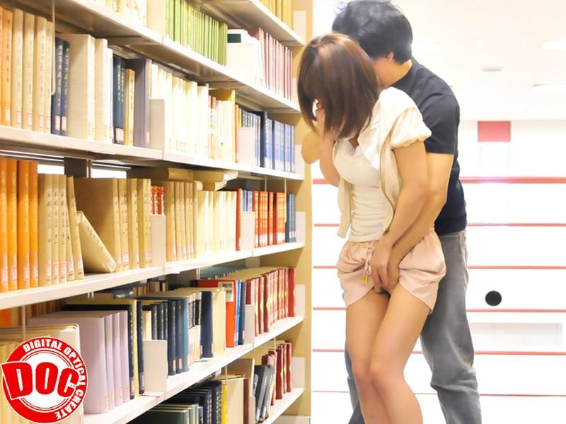 静寂な図書館で感じすぎて声を押し殺すウブ娘[118tls00004][TLS-004] 2