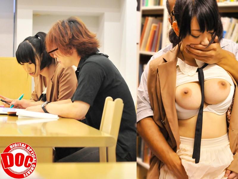 静寂な図書館で感じすぎて声を押し殺すウブ娘[118tls00004][TLS-004] 8