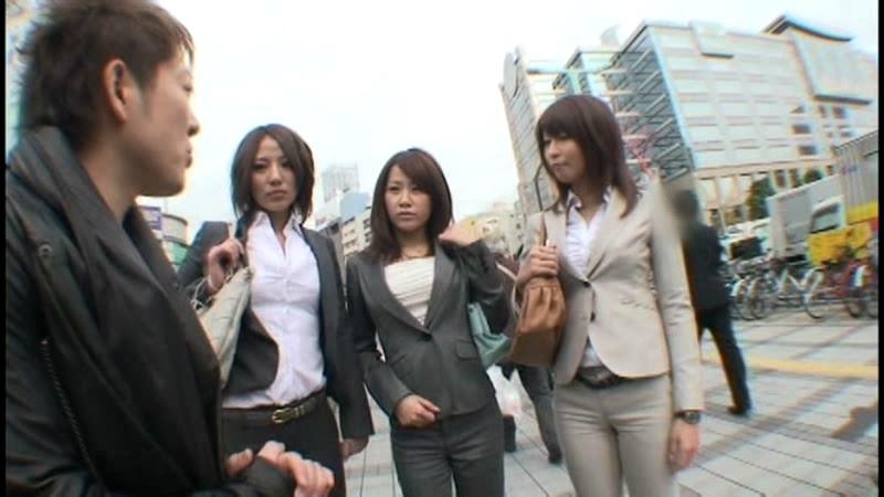 働くオンナ獲り 【パンツスーツの美脚OLをハメ廻せ!!】 vol.1 画像6