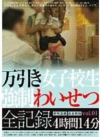 万引き女子校生 強制わいせつ全記録 vol.01 ダウンロード