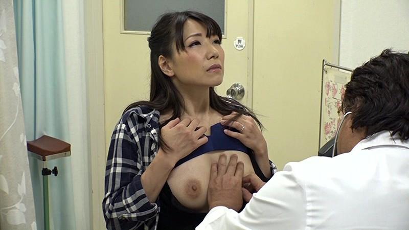 【加藤あやの】産婦人科に診察に来た清楚なマダム系人妻が、悪徳医師から触診からカーテン越しにセクハラされてパコられちゃう!