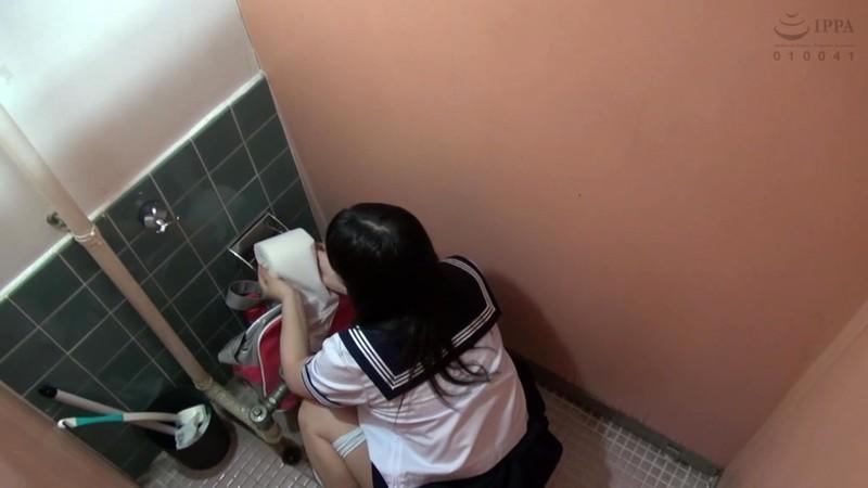女子●生トイレ盗撮傑作映像