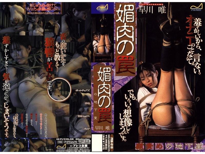 (134prk018)[PRK-018] 媚肉の罠 顔責めの地下室 早川唯 ダウンロード