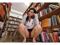 【VR】夏休みに図書館でひとりぼっちでいたら司書の美人お姉さんに声をかけられトイレでこっそりエッチなイタズラをされた