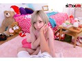 【VR】@yano_purple初VR 金髪ロ●ータ個性派女子と変態濃密セックス