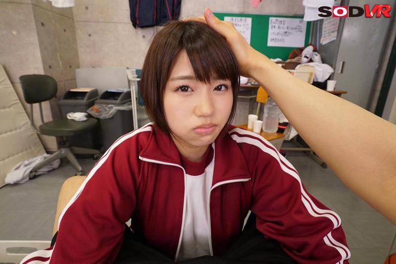 【VR】ツンデレ!女子マネージャー唯井まひろに告白!からの即エッチをお願いしてみた! 7枚目