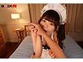 【VR】美巨乳娘の究極ご奉仕VR 四葉さなが指舐め、顔舐め、乳首舐め、玉舐め、身体中を舐め回してくれるご奉仕メイド