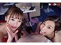 【VR】【HQ高画質】超高級Wおっパブspecial!SODstar大集合!!sample7