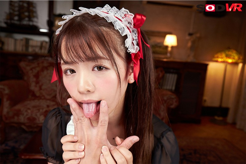 【VR】本物アイドルの究極ご奉仕VR 永瀬ゆいが指舐め、足舐め、顔舐め、乳首舐め、尻穴舐め、身体中を舐め回してくれるドMメイド