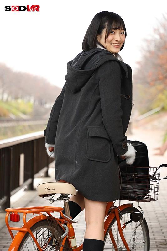 彼女のお家まで放課後自転車デートVR 中城葵 田舎の冬はやることなくて寒いのでめちゃくちゃヤりまくった