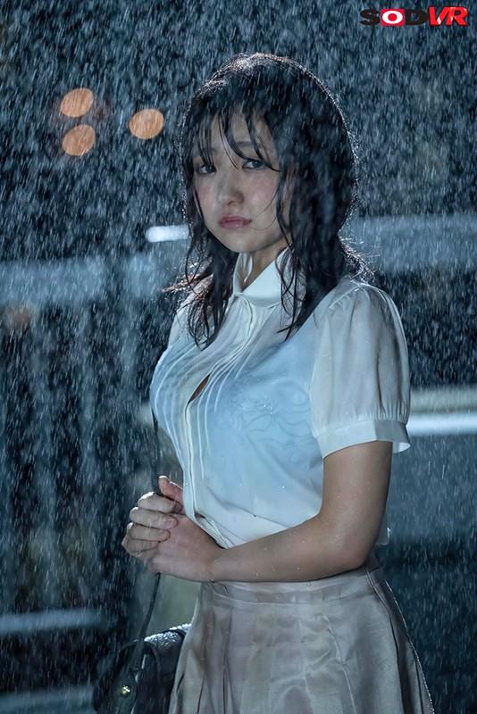 「先生…好きなんです…」僕の結婚前夜にゲリラ豪雨でびしょ濡れになった教え子がやってきて…