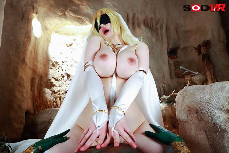【VR】聖女凌●VR 精子に催淫作用があるエロゴブリンに囚われ…快楽に溺れ狂わされ…