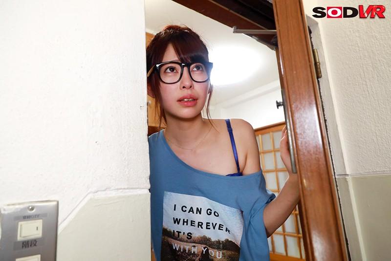 【VR】【追跡視点】ランドリーで見つけた女子大生 自宅へ押し入り強● ユル...のサンプル画像