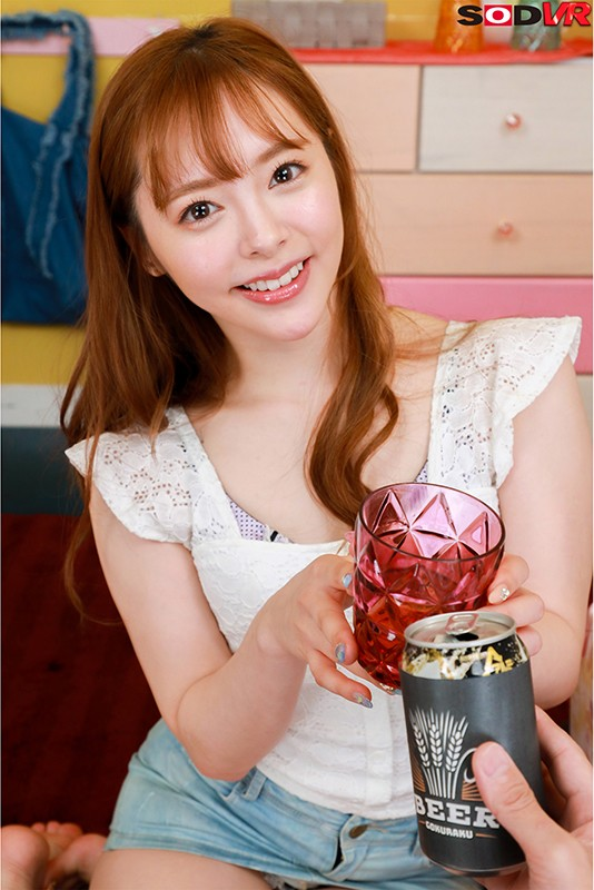 【VR】酔って甘えてくる激カワ彼女と最初から最後までねっとりキス100回SEX 小倉由菜3