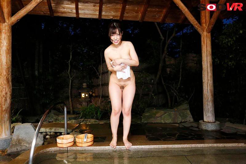 【VR】温泉に入っていたらまさかの『タオル一枚 男湯入ってみませんか?』の撮影に出くわしてエッチな素人娘さんにヌかれちゃったVR 160分SP18