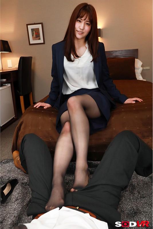 【VR】仕事のデキる女部下のスーツの下はただの変態女!仕組まれた逃げられない相部屋で朝まで性欲が満たされるまでヤラされ続けた! 吉永このみ2