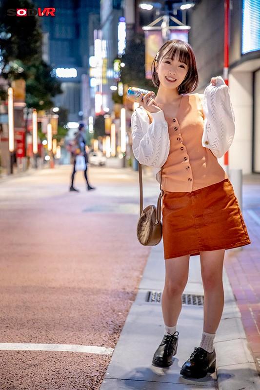 【VR】午前2:00高田馬場のロータリーを千鳥足で歩いていた飲み会帰りの女子大生まおに中出し 2