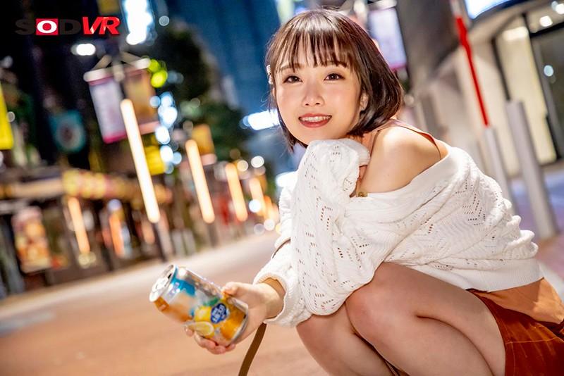 【VR】午前2:00高田馬場のロータリーを千鳥足で歩いていた飲み会帰りの女子大生まおに中出し 3