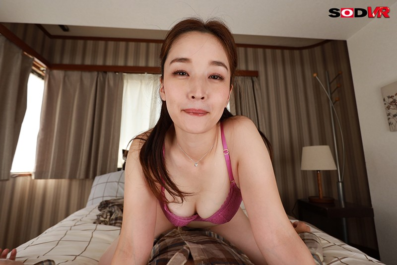 【VR】麗-KIREI SOD-専属 相馬茜 天井特化騎乗位、極み密着正常位など美しい人妻とのVRセックスを存分に楽しめる濃厚濃密SEX尽くし! 濃厚ご奉仕SEX / 濃密痴女SEX 豪華2セックス2時間たっぷり堪能! 画像5